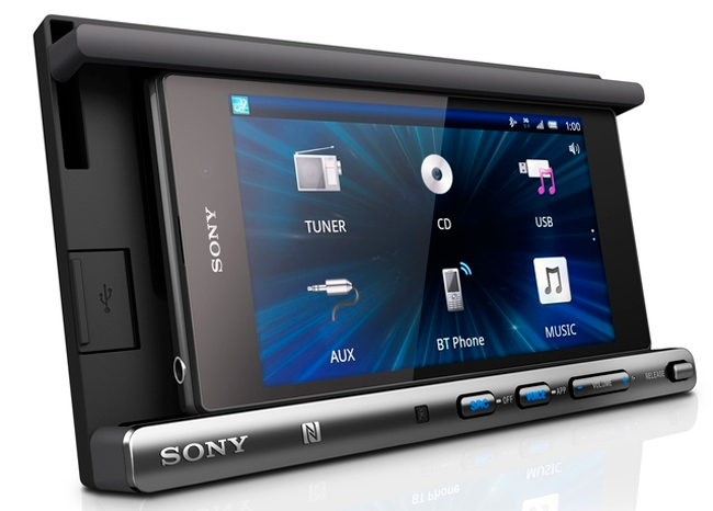 Sony XSP-N1BT, integra tu smartphone en tu vehículo, Imagen 1