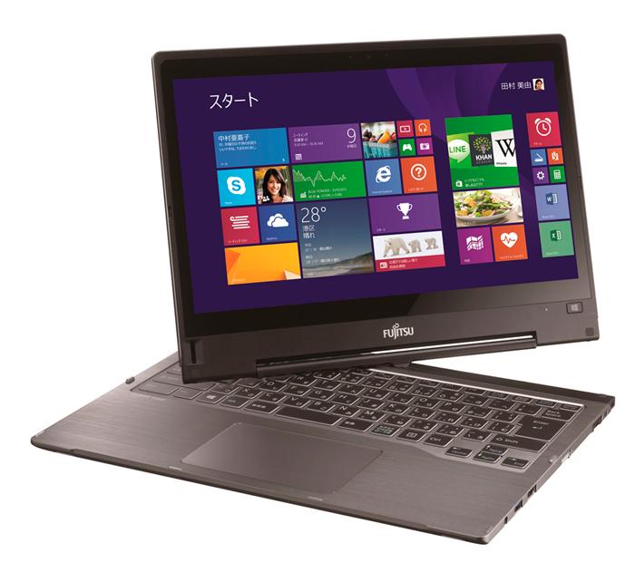 Fujitsu LIFEBOOK TH90/P, nuevo Ultrabook convertible con pantalla giratoria, Imagen 1