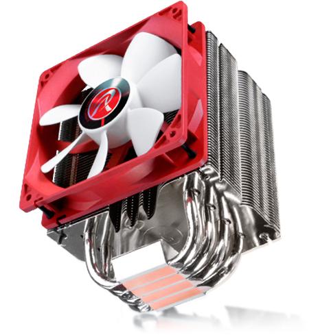 Raijintek presenta un nuevo disipador de CPU con heatpipes de contacto directo, Imagen 1