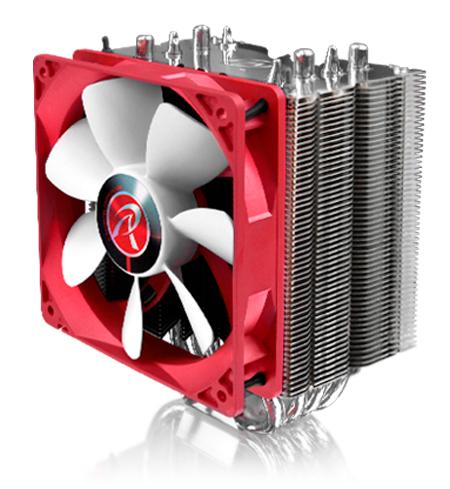 Raijintek presenta un nuevo disipador de CPU con heatpipes de contacto directo, Imagen 2