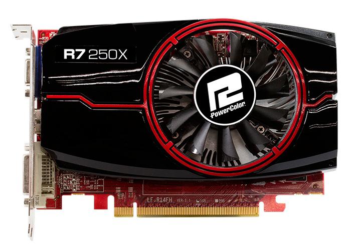 PowerColor es la primera en anunciar su propia Radeon R7 250X, Imagen 1