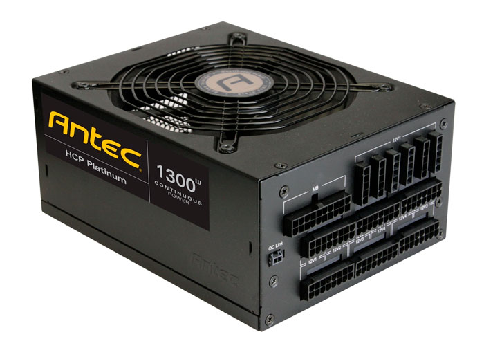 Antec HCP Platinum, nuevas fuentes de alimentación de alta eficiencia energética, Imagen 1