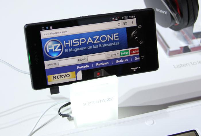 Sony Xperia Z2, Imagen 2