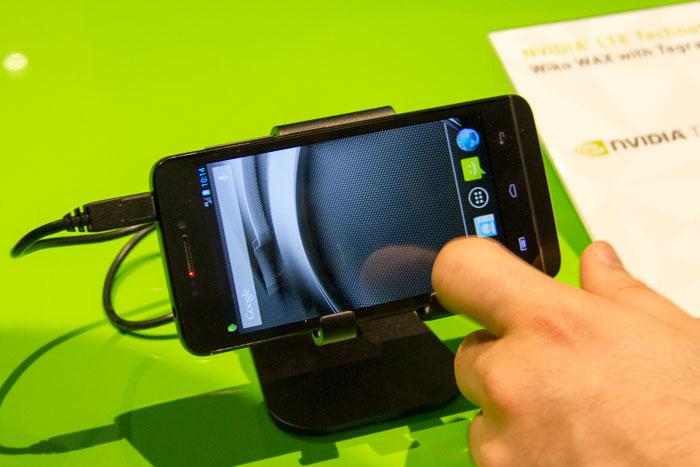 Wiko. Nuevo Wax con Tegra 4i LTE de Nvidia, Imagen 2