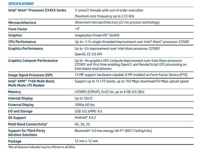 Intel presenta nuevos procesadores para dispositivos móviles, Imagen 2
