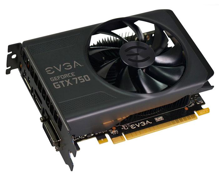 EVGA tiene listos dos modelos de GTX 750 con 2 GB de memoria, Imagen 1
