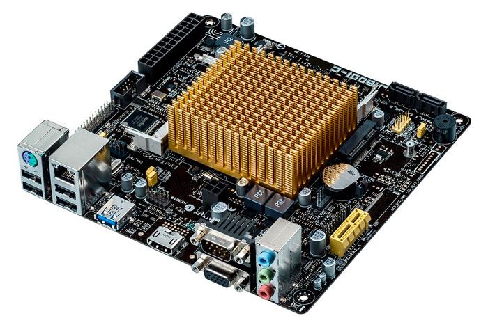ASUS J1800I-C, nueva placa base pasiva con procesador Intel Bay Trail integrado, Imagen 1