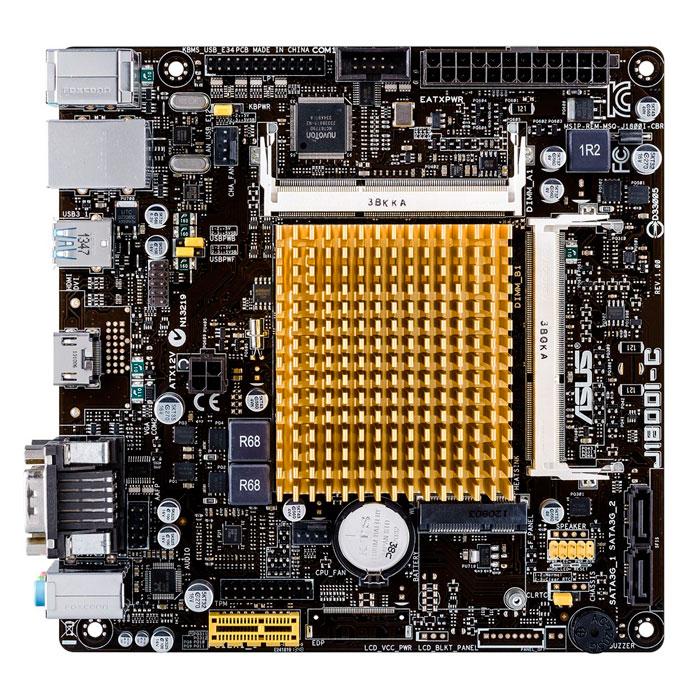 ASUS J1800I-C, nueva placa base pasiva con procesador Intel Bay Trail integrado, Imagen 2