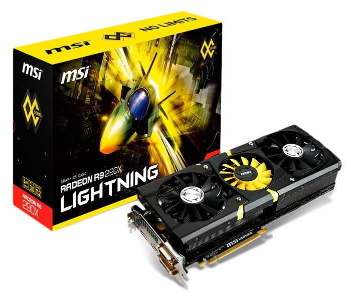 MSI presenta su Radeon R9 290X Lightning, Imagen 1