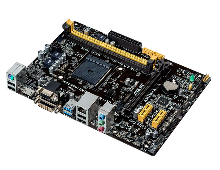 ASUS presenta dos placas base para la nueva plataforma asequible AMD AM1, Imagen 1