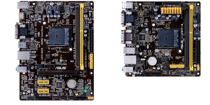 ASUS presenta dos placas base para la nueva plataforma asequible AMD AM1, Imagen 3