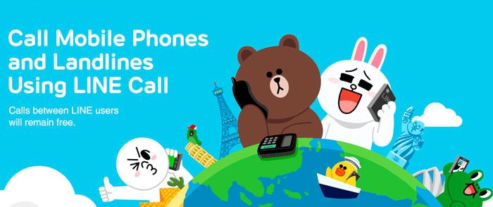 LINE se lanza a por Skype ofreciendo llamadas baratas a teléfonos de todo el mundo, Imagen 1