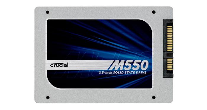 La nueva familia de SSD Crucial M550 ofrece hasta 1 TB y diversos formatos, Imagen 1