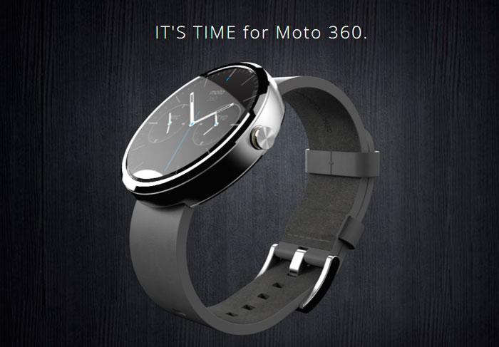 Motorola prioriza el diseño con su Moto 360, su primer reloj con Android, Imagen 3