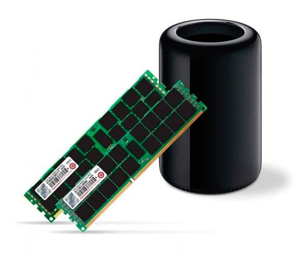 Transcend consigue fabricar kits de 128 GB de RAM para los Mac Pro por 2.500 Dólares, Imagen 1