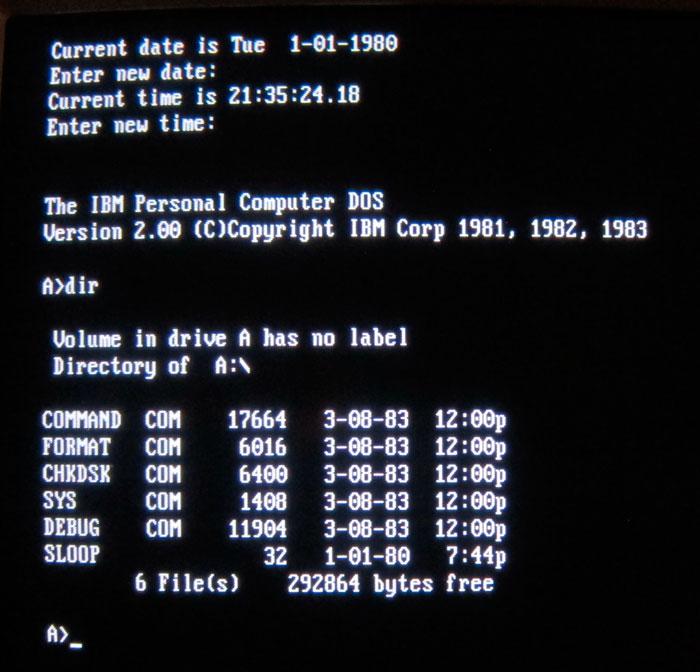 Microsoft dona a un museo el código fuente de MS-DOS , Imagen 2