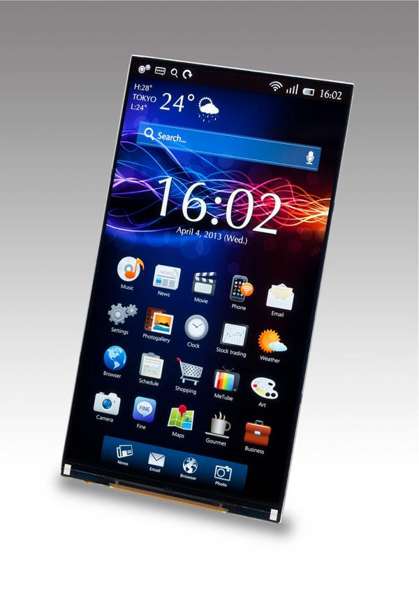 Japan Display ya tiene pantallas de 2560 x 1440 píxeles para smartphones, Imagen 1