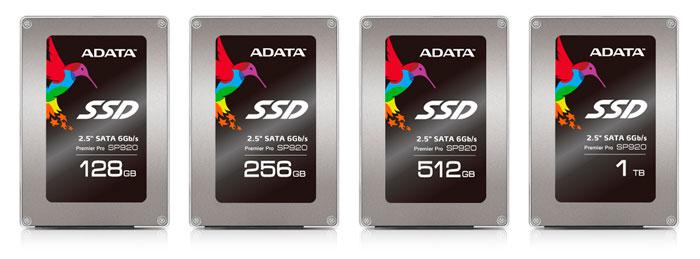 ADATA actualiza sus SSD de alto rendimiento con la nueva serie SP920, Imagen 1