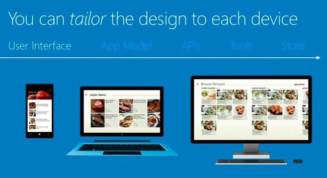 Microsoft permite el desarrollo de aplicaciones universales para smartphones, tablets y PC, Imagen 1