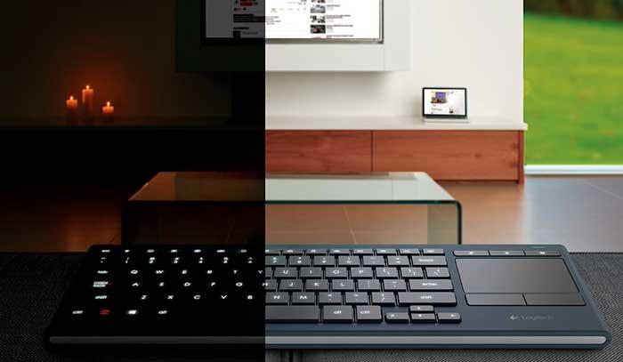 Logitech lanza sus nuevos teclados K830 con la mente puesta en los PC de salón, Imagen 2