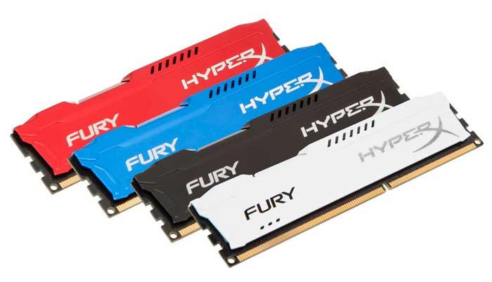 Kingston introduce las nuevas memorias RAM HyperX Fury con perfiles de overclock automático, Imagen 1