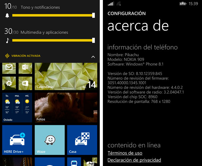 Windows Phone 8.1 ya está disponible en forma de preview para desarrolladores, Imagen 2
