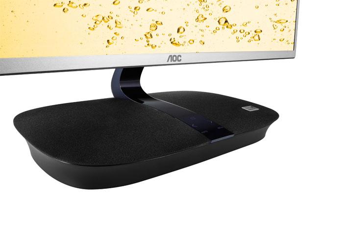 AOC integra dos altavoces de 7 W a su nuevo monitor con Miracast, Imagen 3