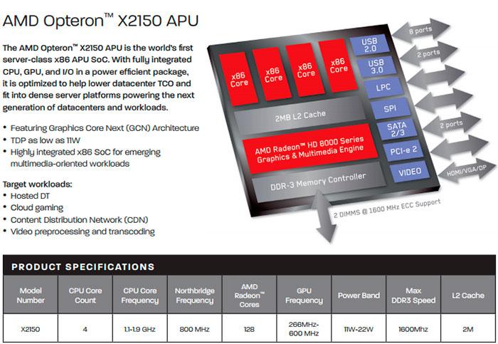 AMD demuestra las prestaciones del Opteron X Berlín en Fedora, Imagen 1