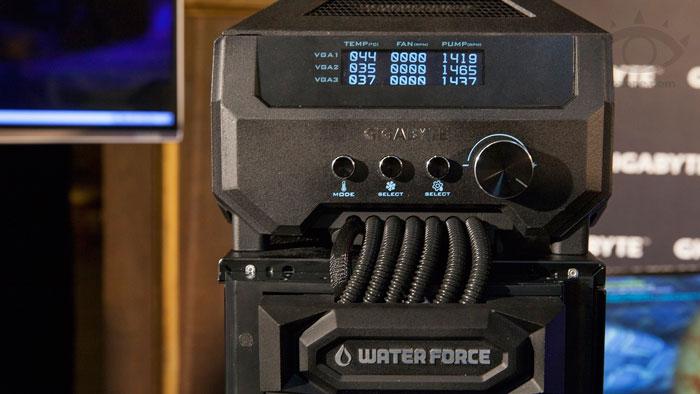 Gigabyte sorprende con un dispositivo formado por tres GTX 780 Ti refrigeradas por agua, Imagen 1