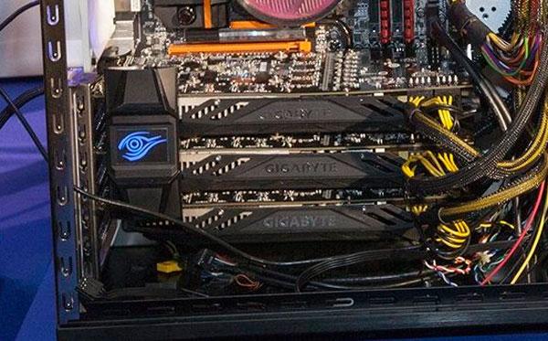 Gigabyte sorprende con un dispositivo formado por tres GTX 780 Ti refrigeradas por agua, Imagen 2
