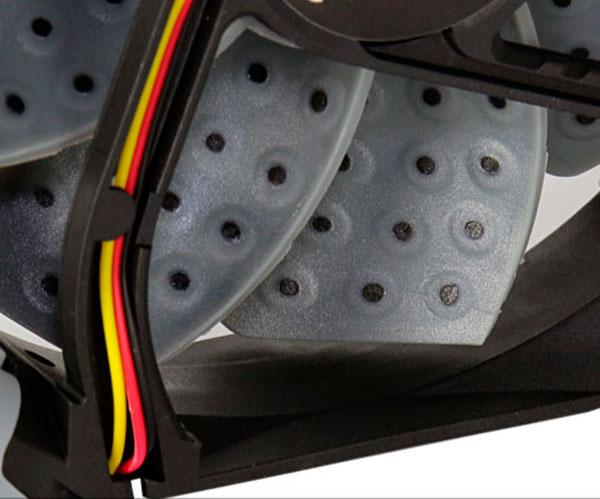 Los ventiladores AeroCool Dead Silence integran distintos elementos para minimizar el ruido, Imagen 2