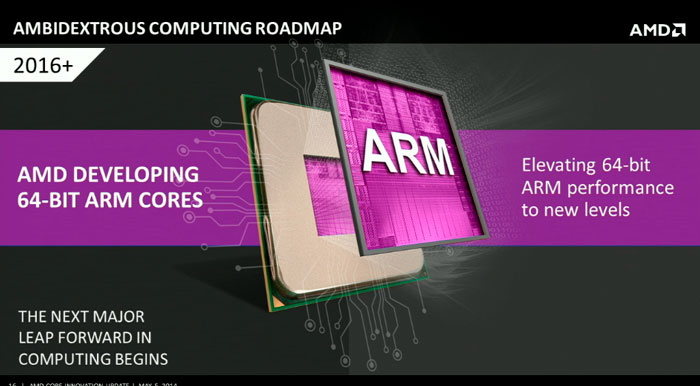 AMD lanzará sus propios procesadores ARM con la plataforma SkyBridge, Imagen 2