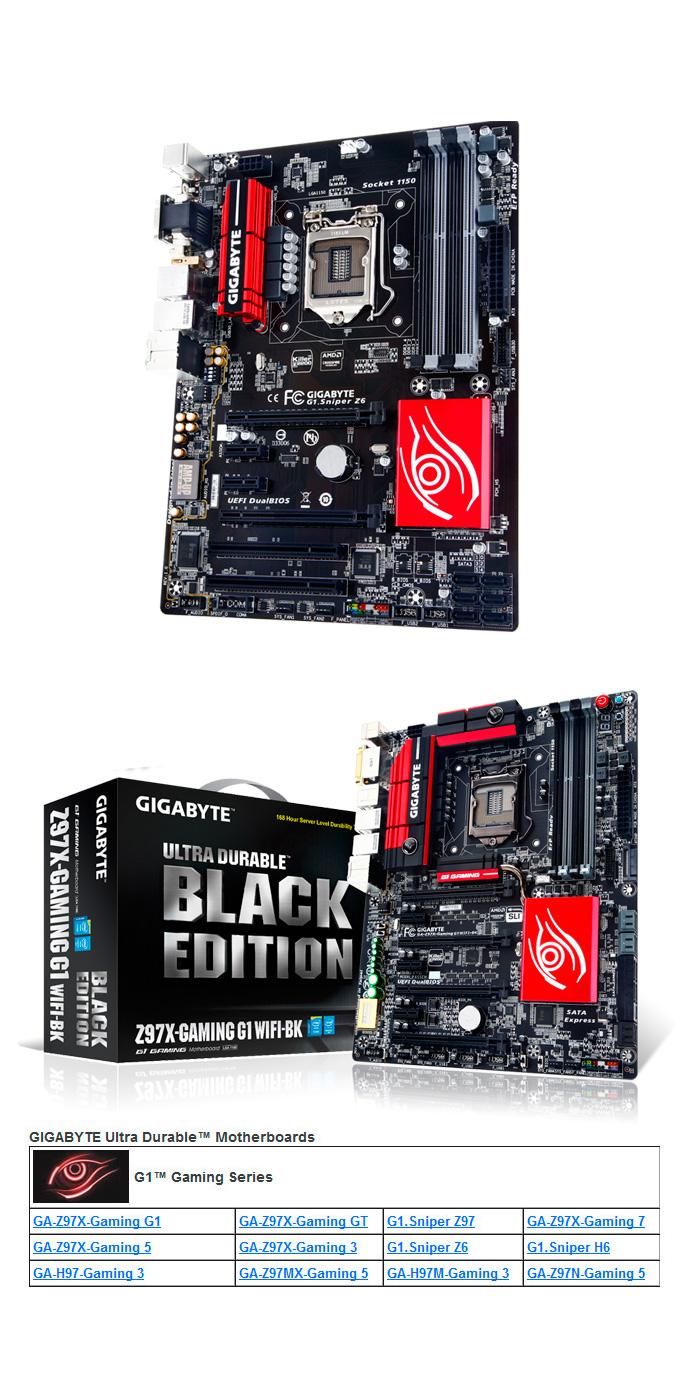 Gigabyte presenta sus propuestas de placas base Z97 y H97, Imagen 1