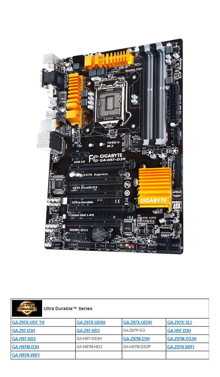 Gigabyte presenta sus propuestas de placas base Z97 y H97, Imagen 3
