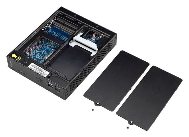Shuttle lanza un pequeño barebone con SoC Intel Celeron y refrigeración pasiva, Imagen 2