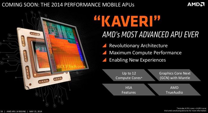 AMD anuncia la llegada de Kaveri Mobile con arquitectura HSA para portátiles, Imagen 2