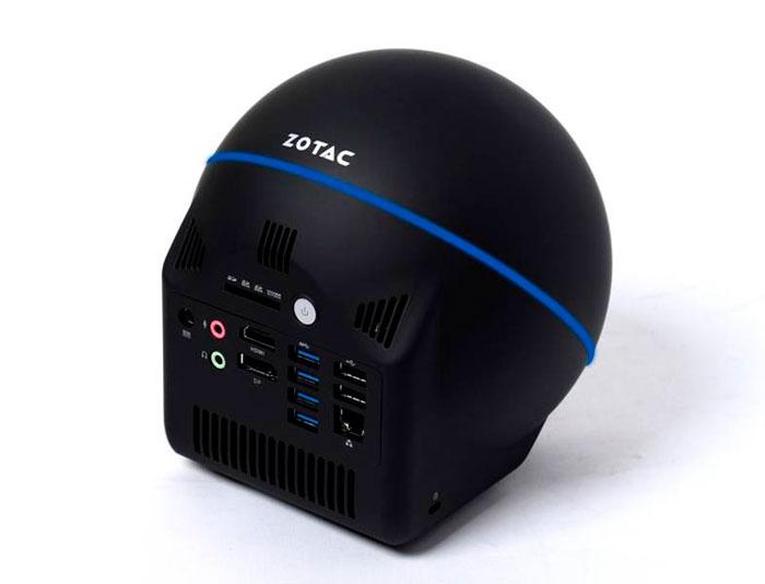 Los nuevos ZBOX de Zotac llegan con una original forma de esfera, Imagen 3