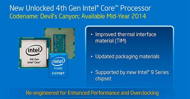 Intel anuncia las nuevas CPU para overclock Devil's Canyon, Imagen 2