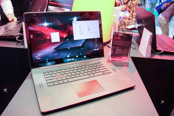 ASUS ROG GX500, un ultrabook gaming con una GTX 860M y 19 mm de grosor, Imagen 1