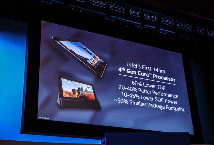 Intel desvela los nuevos Core M, los primeros procesadores de 14 nanómetros, Imagen 1