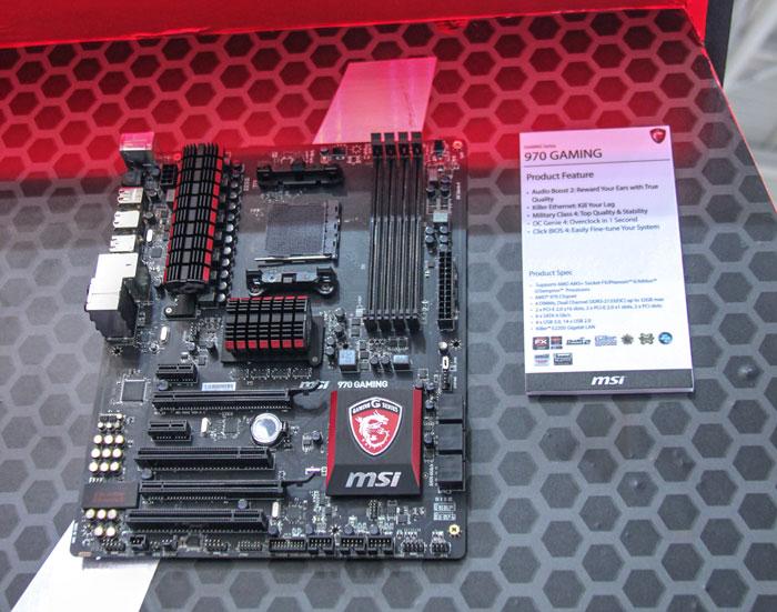 MSI apuesta por AMD para su nueva placa base gaming, Imagen 1