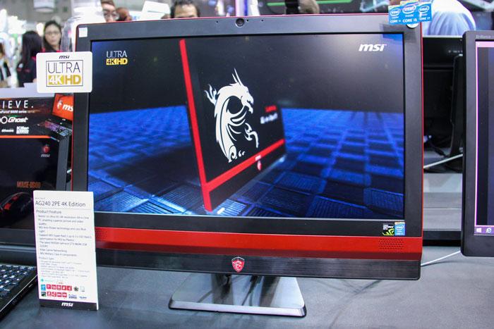 MSI tiene el primer All-in-One gaming con pantalla 4K , Imagen 1