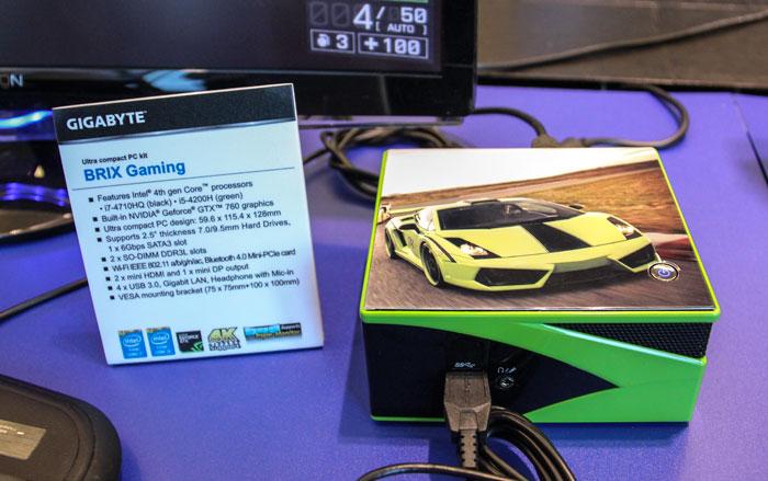 Gigabyte amplía la gama de mini PCs BRIX Gaming, Imagen 1