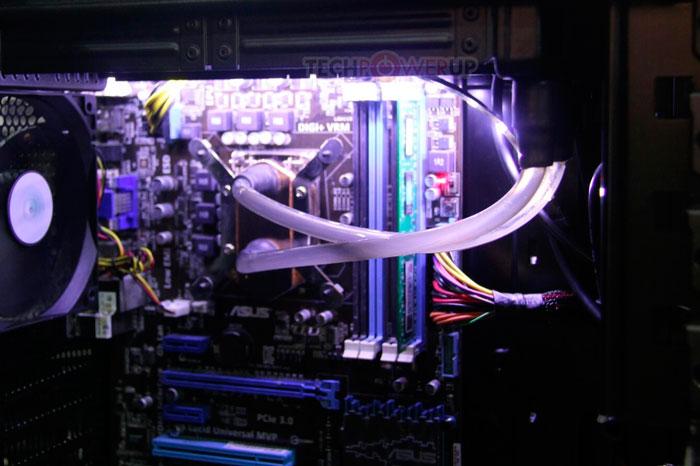 La refrigeración líquida SilverStone Tundra TD04 no requiere de bomba, Imagen 1