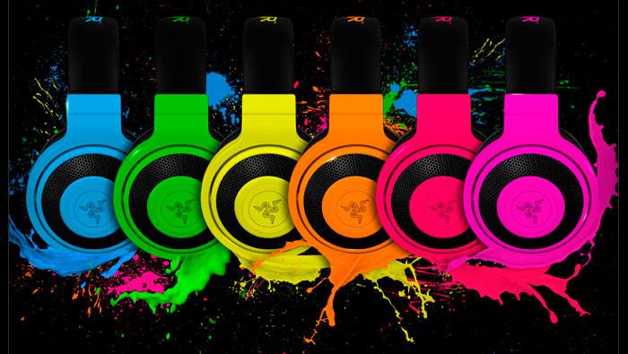 Razer Kraken Pro Neon: Auriculares gaming multicolor, Imagen 1