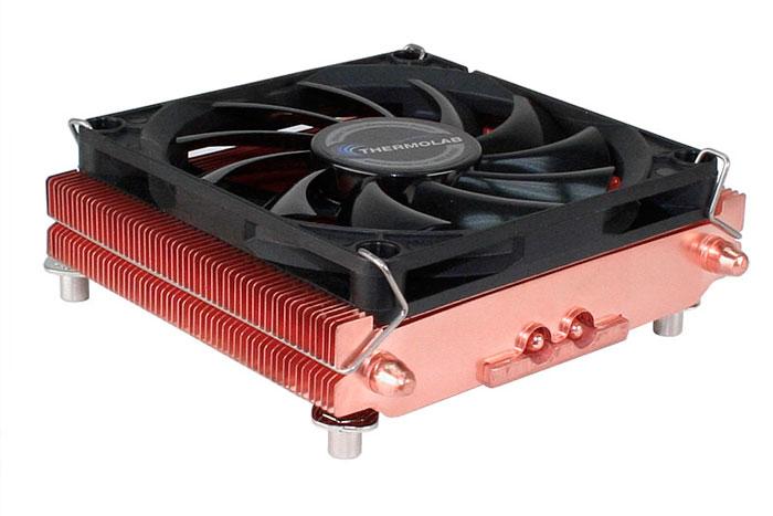 Thermolab lanza dos nuevos disipadores de cobre con perfil bajo , Imagen 2