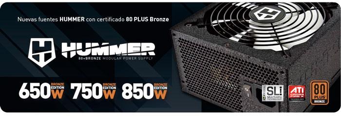 NOX amplía su gama Hummer con tres fuentes modulares Bronze Edition, Imagen 1