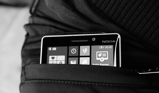 Nokia muestra unos pantalones con carga inalámbrica, Imagen 1
