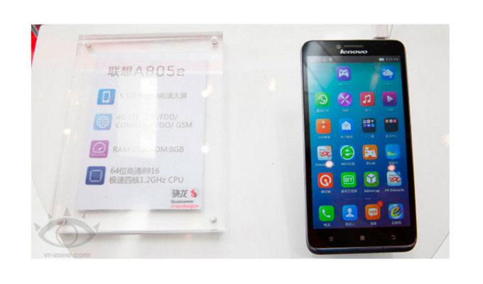 Lenovo A805e, un smartphone de 64 bits por menos de 200 Dólares, Imagen 1