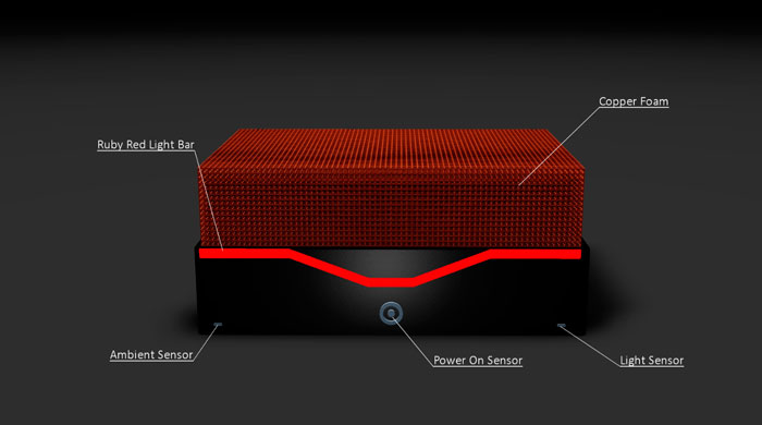 Silent Power trabaja en un ordenador pasivo con espuma de cobre, Imagen 1